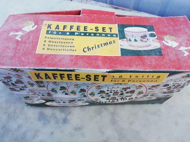 Zestaw kawowy świąteczny