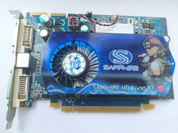Відеокарта Sapphire ATI Radeon HD2600 XT 512MB GDDR3 DVI, TV
