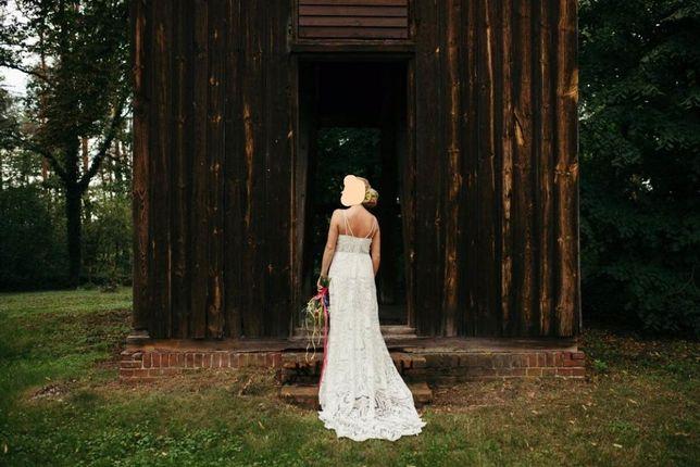 Suknia ślubna BOHO Atelier Renata Potrzeba 2020