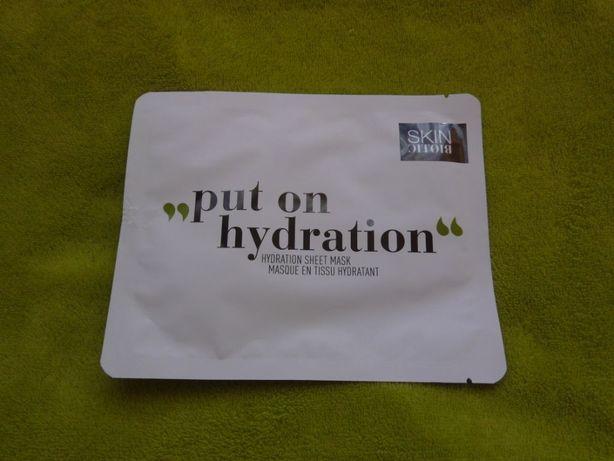 Skinbiotic Put on hydration Sheet Mask Maseczka makijaż z kokosa