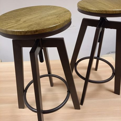 Hoker loft loftowy krzesła krzesło obrotowy