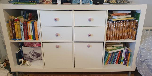 IKEA kallax 4 x 2 nóżki szuflady regał szafka