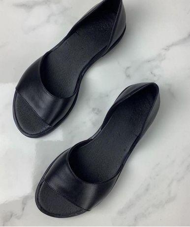 Нові! Туфлі босоніжки, 38 розмір, шкіра