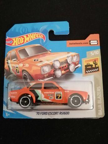 Hot Wheels - '70 FORD ESCORT RS1600