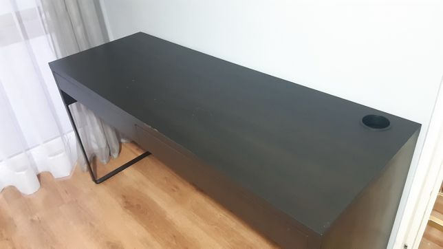 Biurko IKEA Micke - kolor czarny