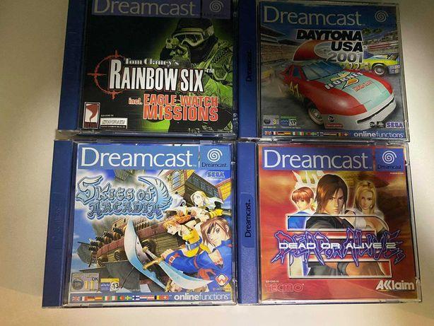 Vendp jogos Dreamcast *Alguns MUITO RAROS*