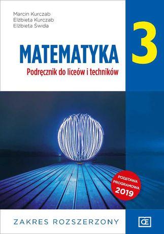 Matematyka 3 podręcznik NOWY ROZSZERZENIE po szkole podstawowej PAZDRO