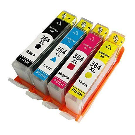 Sprzedam tusze 364XL dobrej jakości zaminniki do drukarek HP 7szt wys.