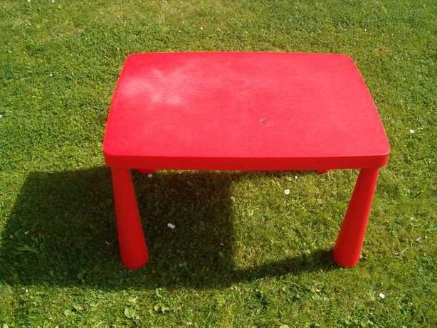 Stolik IKEA Mammut + gratis stołek