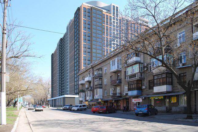 ВИД НА МОРЕ! 1-комнатная квартира. 43 м2. Приморский район. 9 этаж.