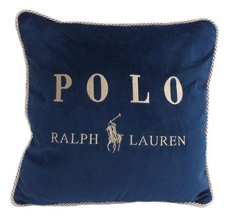 poszewki Ralph Lauren haftowany welur, drukowana bawełna