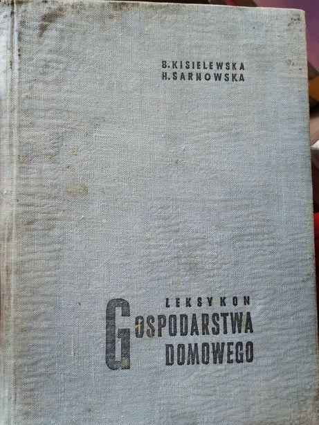 Leksykon gospodarstwa domowego Kisielewska oraz Maria Curie Skłodowska