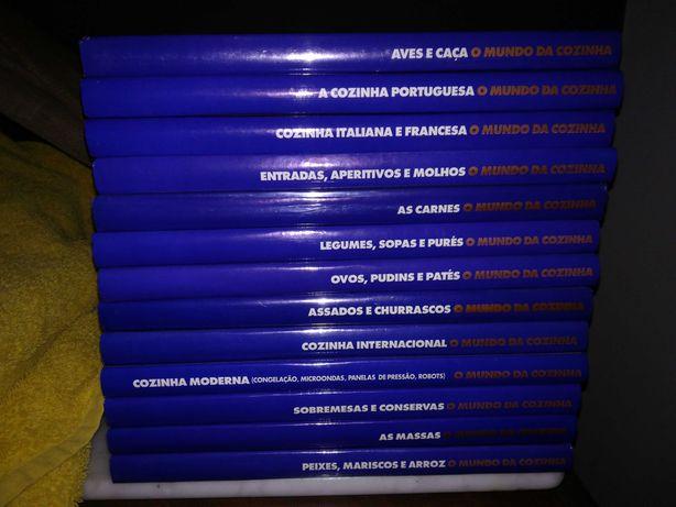 O Mundo da Cozinha - 14 volumes (Completo) Ediclube