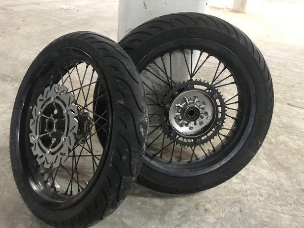 """Jantes Supermoto 17"""" -  Yamaha WR125X"""