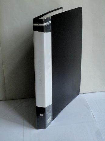 Папка с файлами BUROMAX 40 files A4, black (BM.3617-01)