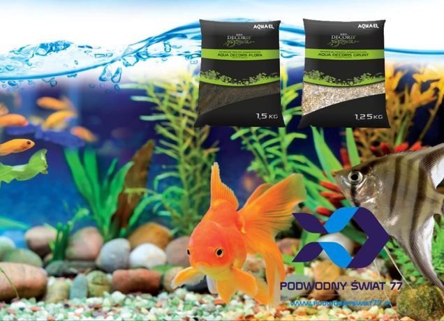 Substrat akwariowy Aquael Aqua Flora Grunt - podłoża dla roślin
