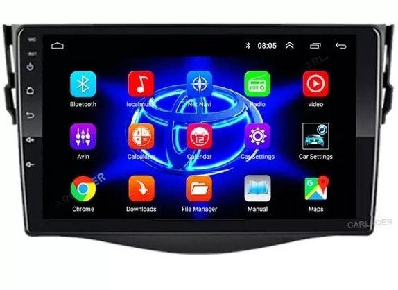 Магнитола rav4 toyota android gps магнітофон навигатор рав4 тойота