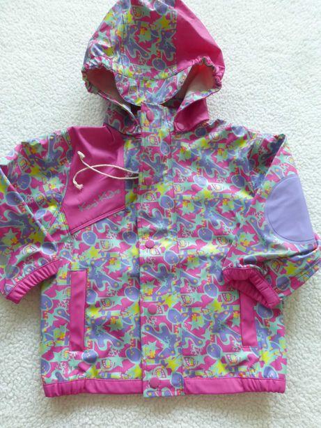 Легкий дождевик ,девочке,куртка от дождя,90 см,Швеция Kozi Kidz
