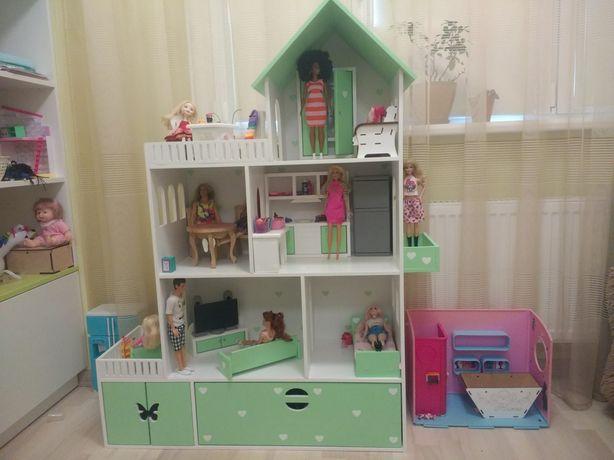 Домик для кукол, кукольный домик для Барби, ЛОЛ, ляльковий будиночок