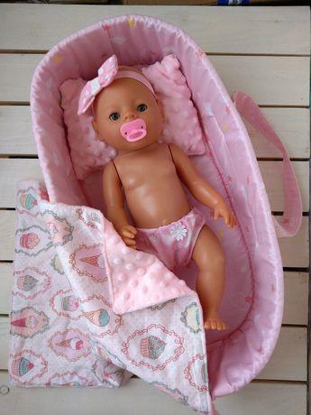 На подарок! Люлька-переноска кокон для Беби Борн Baby Born с постелько