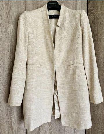 Шикарное лёгкое пальто-пиджак Zara Woman