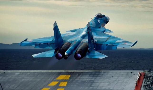 Сборная модель самолета Су-27К 1/72