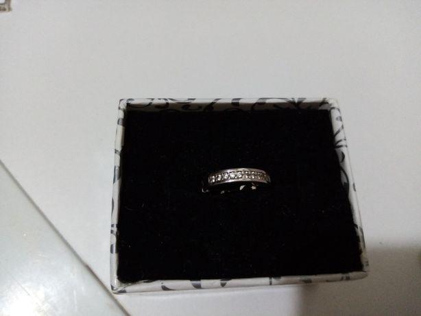 Серьга кольцо двухстороннее