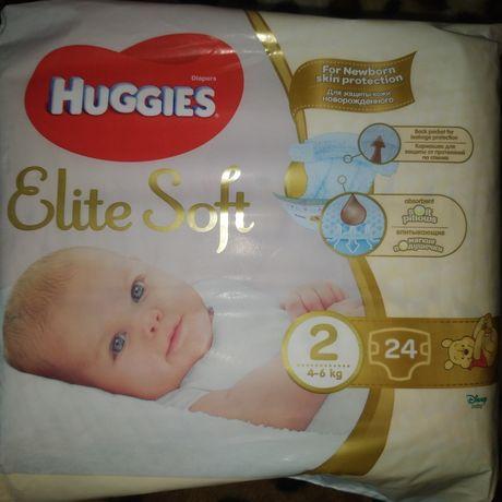 Продам памперсы Хаггис 2 (4-6 кг)