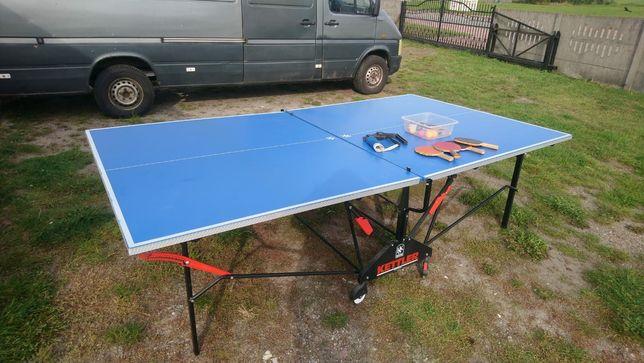 Stół do tenisa stołowego KETTLER - aluminiowy.
