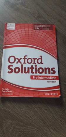 Oxford solutions workbook Oxford matura support