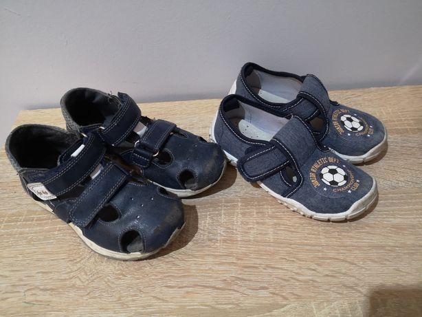 Buty dla chłopca 27 pantofle sandały