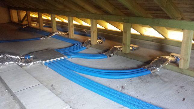 Rekuperacja, pompy ciepła, klimatyzacja instalacje co cwu