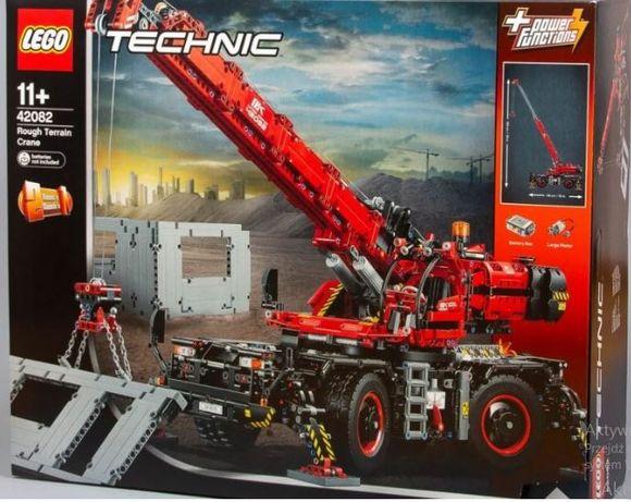 LEGO Technic 42082 OGROMNY DŹWIG, Nowy! Kraków