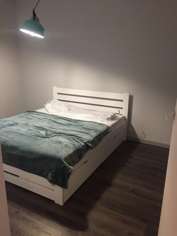 bukowe - Łóżko bukowe 140x200