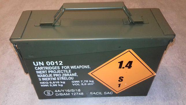 Skrzynka wojskowa hermetyczna amunicyjna m19a1