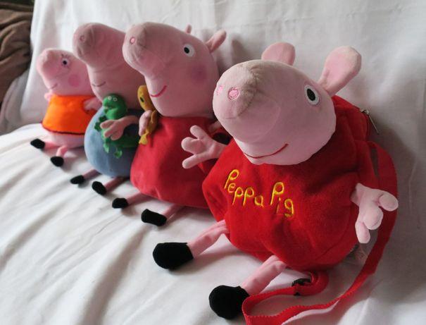 Świnka Peppa, George, miś Peppy Teddy