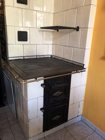 Piec kaflowy kuchnia węglowa