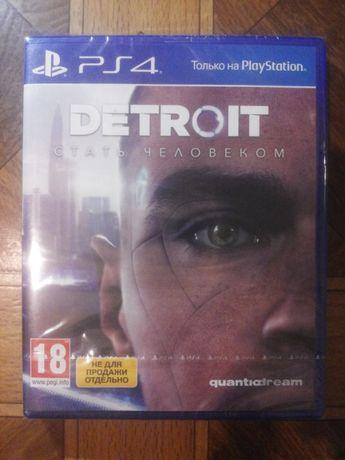 Игра DETROIT Becone a Human PS4