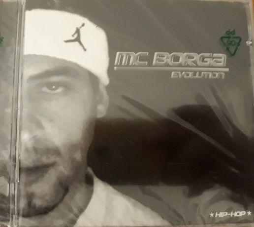 CD MC Borga - Evolution (EMBALADO)
