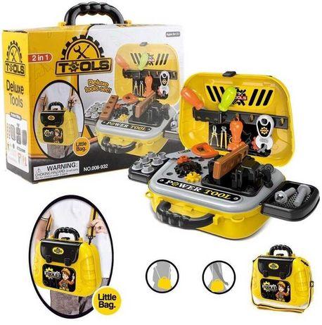 Детский набор инструментов 2 в 1 (29 эл, чемодан-сумка), НАЛОЖКА