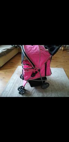 Wózek transporter dla psa