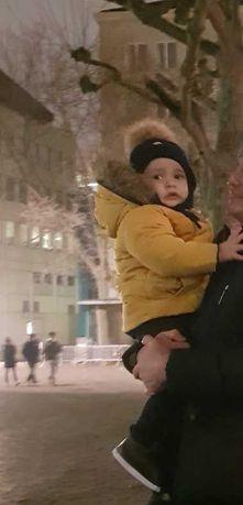 Курточка зимняя от Zara двухсторонняя (мальчик/девочка)