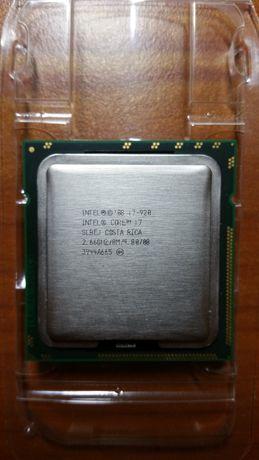 4 ядерный процессор Intel Core i7-920, LGA 1366, (2,66 - 2,93 GHz)
