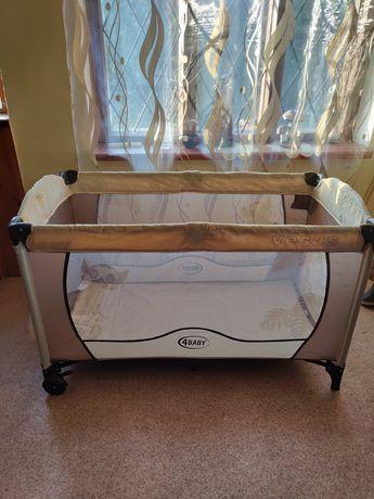 Манеж, кровать для ребенка с двойным дном для самых маленьких