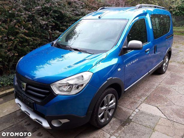 Dacia Dokker 1.5dci STEPWAY niebieska NAVI grzene fotele 1 ręka