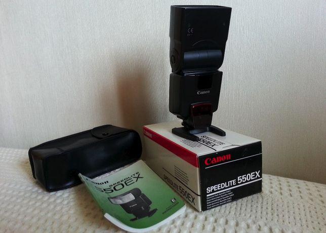 Вспышка Canon speedlite 550 EX