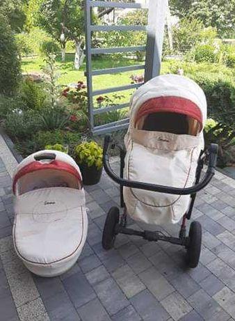 Wózek gondola+spacerówka