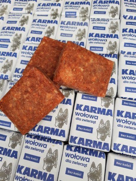 Karma wołowa dla psa 28 kg karma mrożona mięso wołowe wołowina dla psa