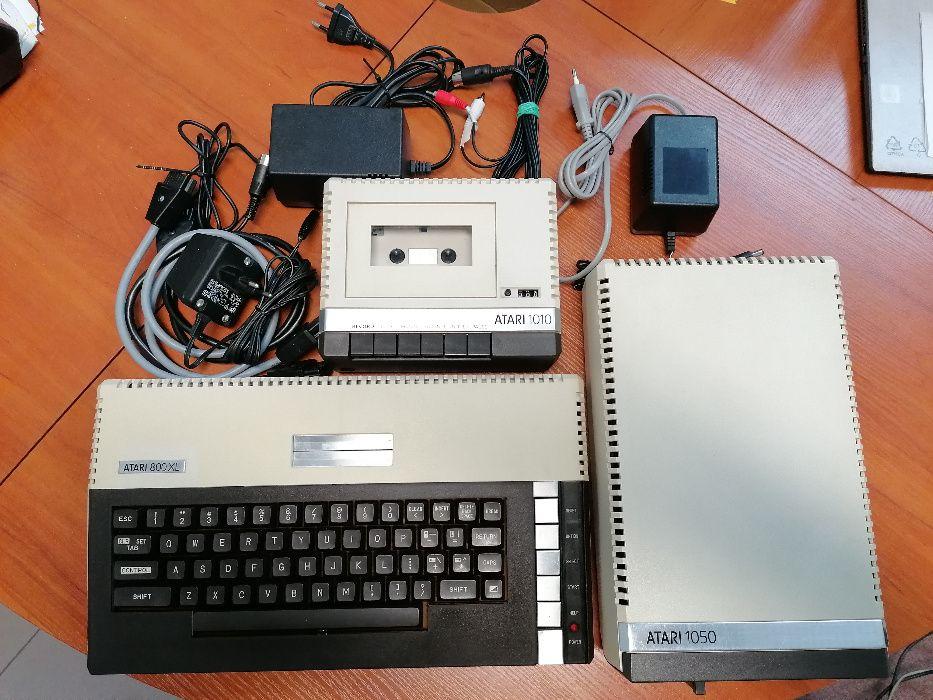 Atari 800XL , Atari 1050 , Atari 1010, RAM CART 1 MB Łódź - image 1