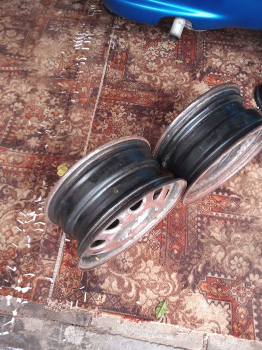 Felgi samochodowe 14-stki używane Kleszczewo Kościerskie - image 1